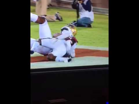 Unreal catch. Francis Owusu Stanford vs Ucla 10.15.15