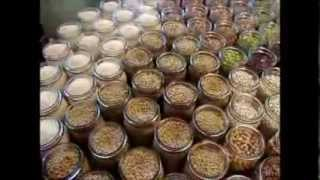 Dry Canning Beans And Rice In Jars