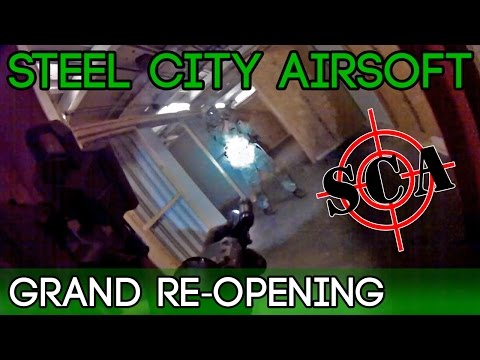 Steel City Airsoft - Pittsburgh CQB Field - Grand Re-Opening
