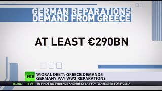 Greece demands Germany to pay over $300bn in WW2 reparations