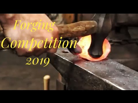 Forging Competition 2019 Rocky Mountain Blacksmithing Conference