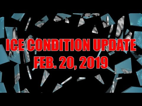 Feb. 20th, 2019 Ice Conditions - Lake Nipissing