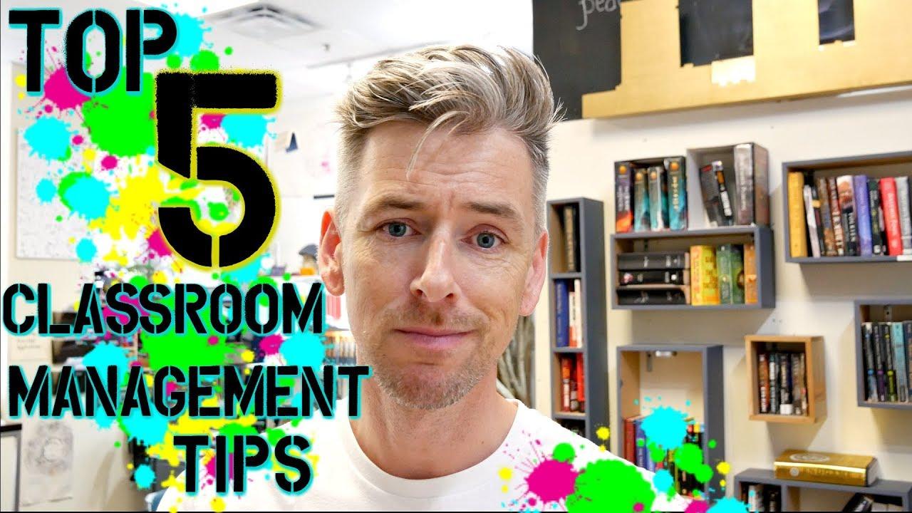 5 tips on classroom management high school teacher vlog