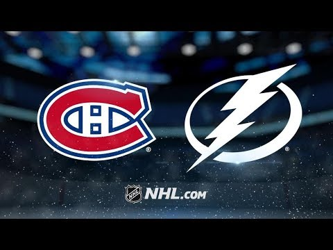 Montreal Canadiens vs Tampa Bay Lightning | Dec.29, 2018 | Game Highlights NHL 2018/19 | Обзор Матча