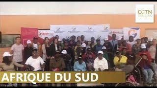 La communauté chinoise du Cap fait un don à une organisation caritative