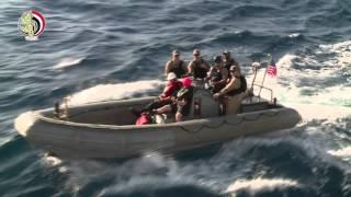 انتهاء فعاليات التدريب البحري المشترك «تحية النسر 2016».. (فيديو)