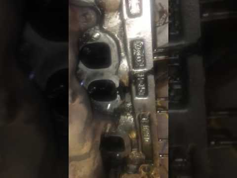 Cleaning ports and bores, cheap effective and easy. TDI engine.