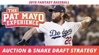 2018 Fantasy Baseball Strategy: Snake Drafts, Auctions, Projections and Roster Construction