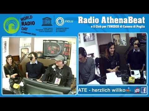 WORLD RADIO DAY broadcast
