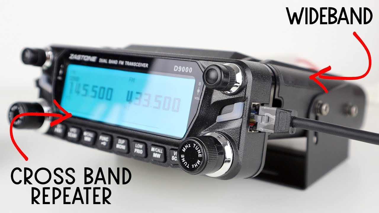 Zastone D9000 Budget Wideband Transceiver With Repeater Function - Part 1