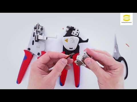 HARTING Han PushPull SCRJ screw