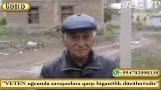 """""""VƏTƏN uğrunda savaşanlara qarşı biganəlik dözülməzdir"""""""