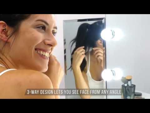 Commercial Video   Tri Fold Vanity Mirror   1