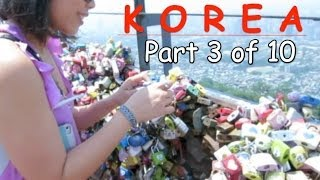 Korea Trip Vlog Part 3 of 10: Namsan Tower & Pork Belly Overload Thumbnail