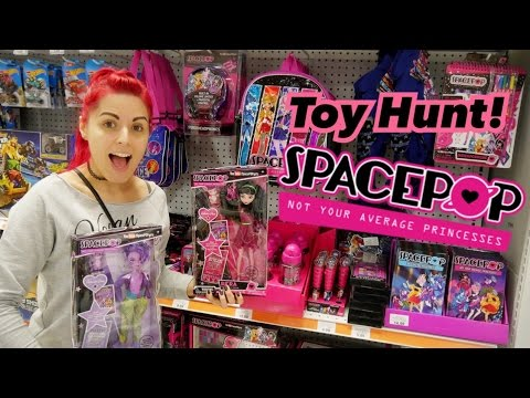 NEW SpacePop Girls Found! Toy Hunting! At Toys R Us