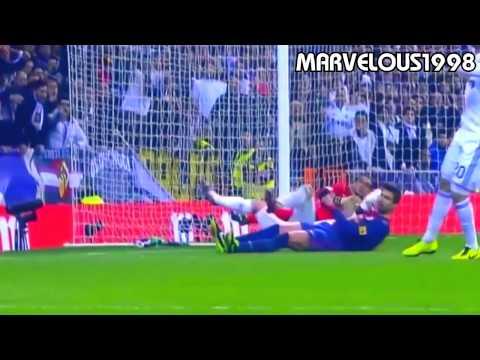 The Best Of Gerard Piqué   Barcelona Defender 2015   HD720p