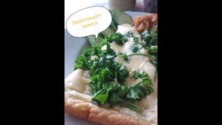 Вкусный и простой омлет с овощами,зеленью и сыром