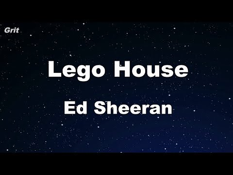 Lego House - Ed Sheeran Karaoke 【No Guide Melody】 Instrumental