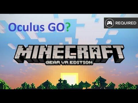 Minecraft VR on Oculus Go!!!