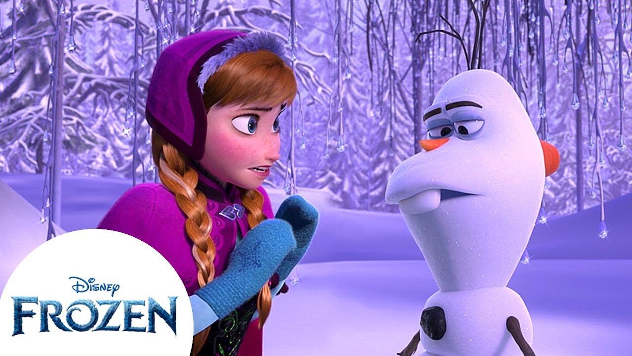 Anna and Olaf Meet Again! | Frozen