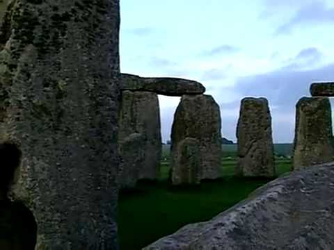 Stonehenge Rock Monument in Wiltshire, England