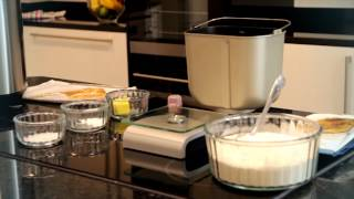Baking a basic loaf in a Panasonic breadmaker