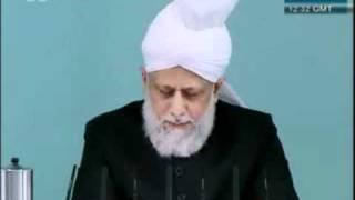 Bénédictions de la Jalsa Salana - Sermon du 29 juillet 2011