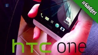 HTC One, unboxing y 1.ª vista