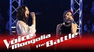 "Bayarjargal vs. Nasanbuyan - ""Anhnii hair"" - The Battle - The Voice of Mongolia 2018"
