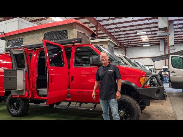 Sportsmobile West Factory & Van Conversion Tour With Founder Alan Feld