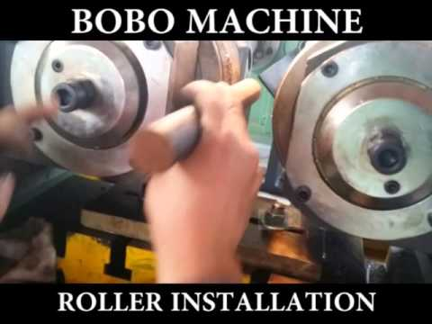 How To Operate The Thread Rolling Machine  Roller Installation