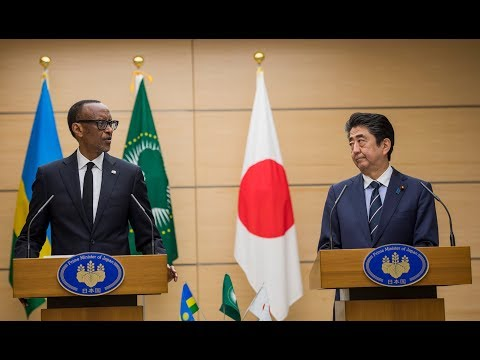 Press Statements by President Kagame and Prime Minister Shinzo Abe | Tokyo: Official Visit to Japan
