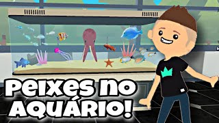 NOVOS PETS PEIXES NO AQUÁRIO! GAMEPLAY PLAY TOGETHER PETER GAMES