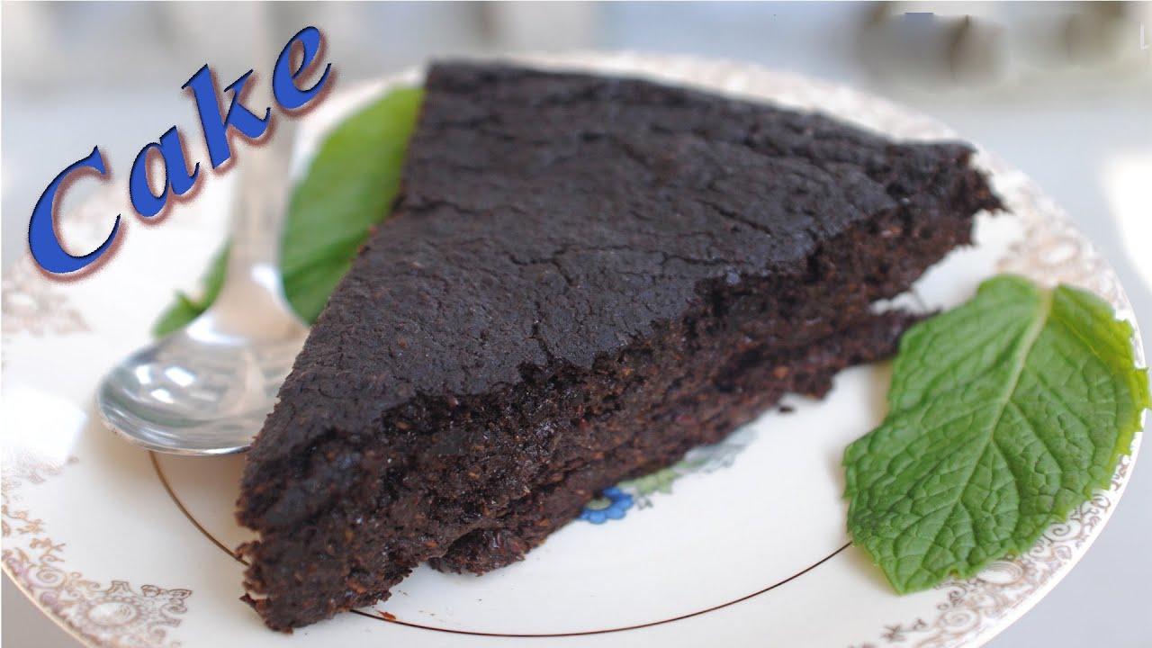 Carob Powder Cake Recipe