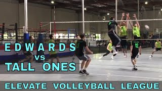 Edwards vs Tall Ones - EVL #4, Playoffs, Match 1 (Elevate Volleyball League 2018)
