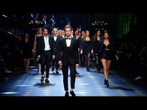 Dolce&Gabbana Fall-Winter -18 Men&39;s Fashion Show