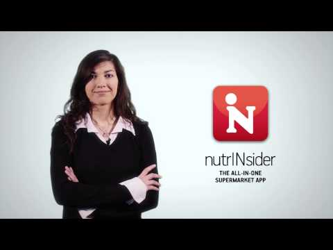 nutrINsider The All-in-One Supermarket App