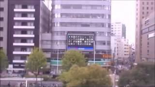 <新幹線の車窓から> のぞみ301号 名古屋→新大阪 進行方向左20180417[Victor Video]