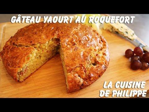 gâteau-yaourt-au-roquefort