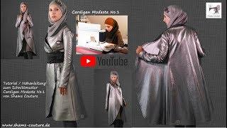 Cardigan Modeste No.1 Näh- Anleitung / DIY Tutorial zum Modest Fashion Schnittmuster
