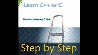 3- your first app in c++ تعلم برمجة سي بلاس| تطبيقك الأول بلغة سي بلاس
