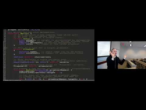 Wulf Kaal - Coding for Lawyers - Solidity Structure