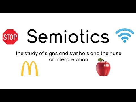 Semiotics Lesson