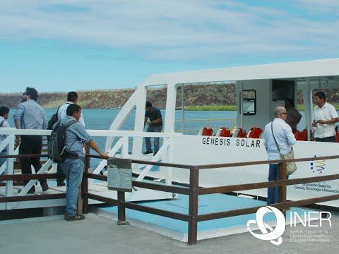 Ecuador Noticias: Transporte con energía solar en Galápagos. (Catamarán)