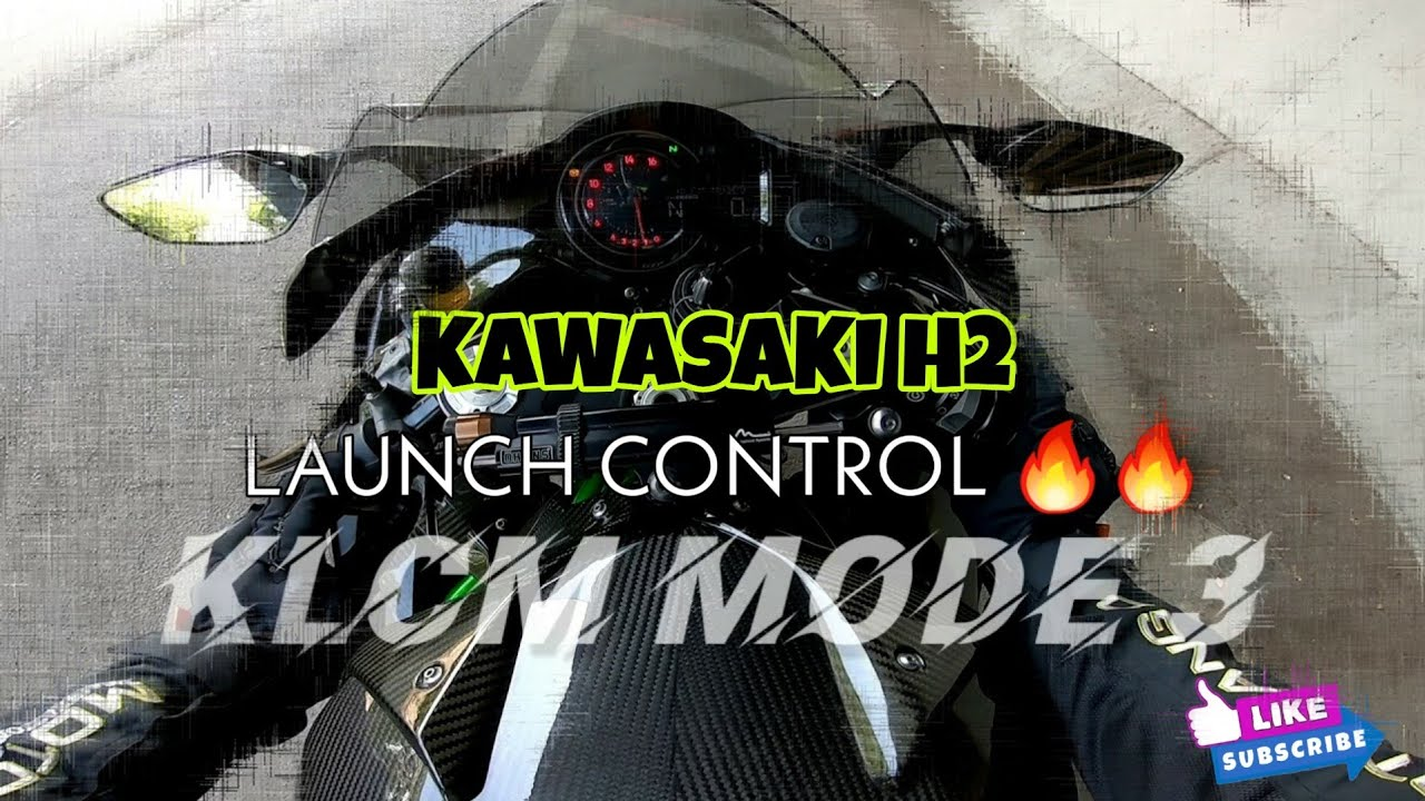 How to setup KLCM Launch Control Kawasaki H2. THE PUNISHER is ROARING 🔥🔥 [#ecclesia_autoTV]
