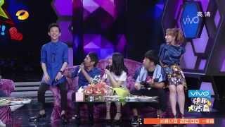 快乐大本营看点 Happy Camp 10/04 Recap: 何炅曝谢娜用张杰神曲承包KTV歌单-Nana Xie Has Special Karaoke List【湖南卫视官方版1080P】
