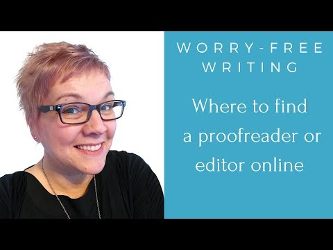 Where To Find A Proofreader Or Editor Online