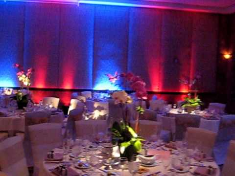 DJ + Lighting Setup @Kyoto Grand Hotel Wedding, Doubletree Hilton LA  (www.tmmpro.com)