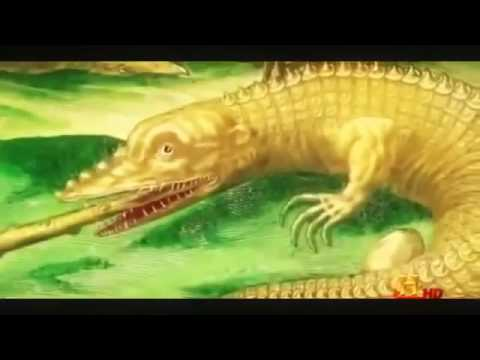 Amazing Prehistoric SuperCroc Discovery before Florida ★ Prehistoric Channel HD