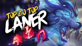 Top 20 TOP LANER Plays #17 | League of Legends